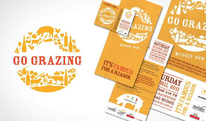 Go Grazing branding