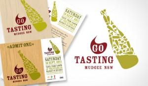 Go Tasting branding