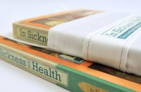 Sickness and in Health - Detail of special cover design