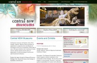 image of Central NSW Museums website