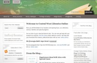 Central West Libraries website redesign 2011-12