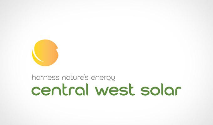 Central West Solar Logo redesign