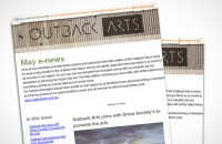 Outback Art Email Newsletter
