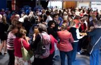 Croud at the Orange Civic Theatre 2012 Subscription Season Launch