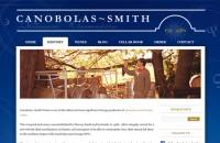 Canobolas~Smith Wines website design