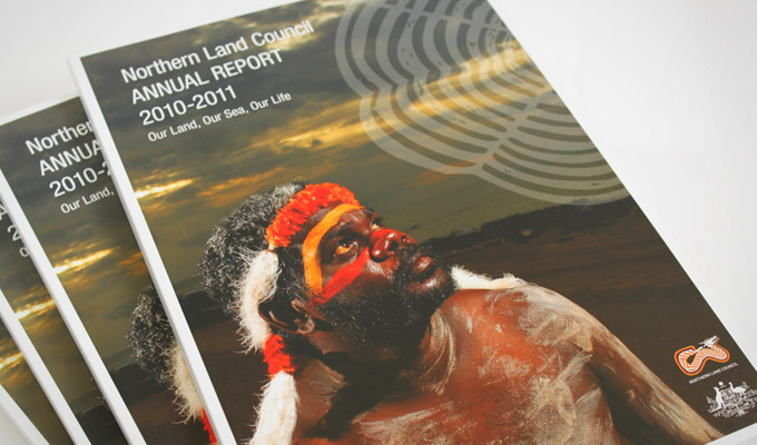 Cover design Northern Land Council Annual Report