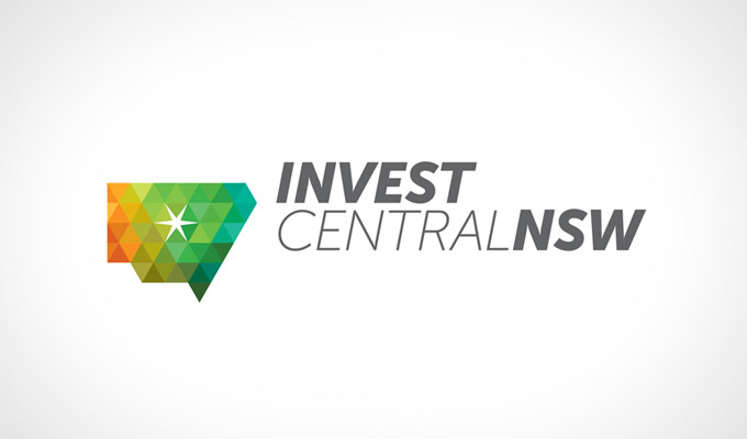 Invest Central NSW - Logo design