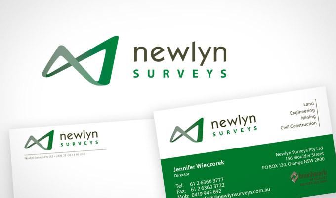 Newlyn Survey, Logo and Branding Design