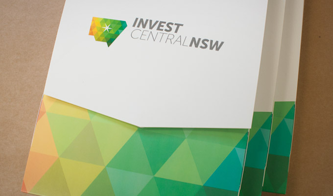 Custom Presentation Box for Invest Central NSW