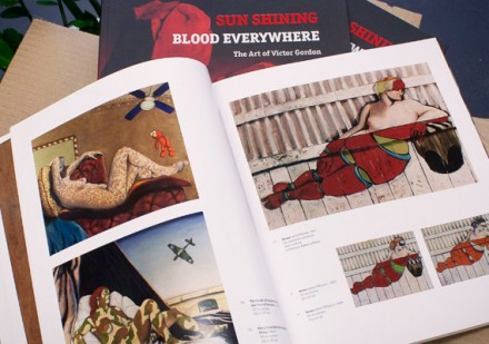 Sauce Design&#039;s latest creation the book: Sun Shining - Blood Everywhere