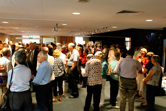 A great turnout for the launch of the Orange Civic Theatre 2013 Subscription Season.