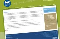 Challara Merinos website page
