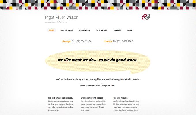 Pigot-Miller-Wilson-responsive-website-desktop-view-homepage