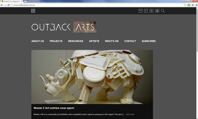 outback arts home page desktop