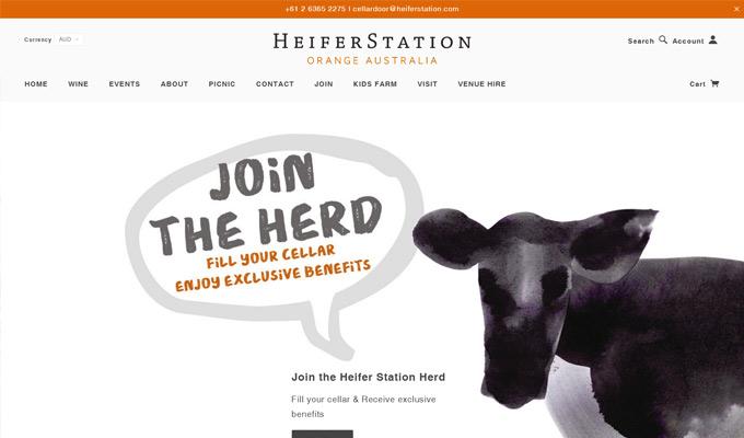 Heifer Station -Banner Join membership