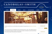 Canobolas~Smith Wines website design