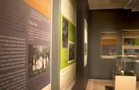 Exhibition design for Half a World Away