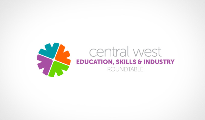 Central West Education, Skills & Industry Roundtable, Logo Design