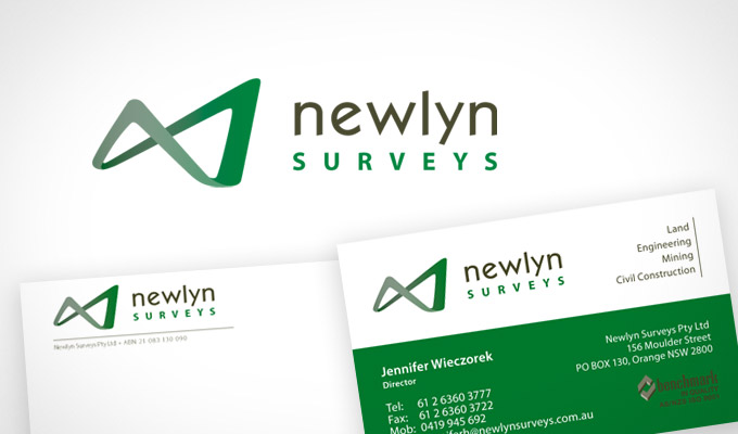 Newlyn Survey, Logo and Branding Design
