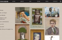 Victor Gordon website - art section
