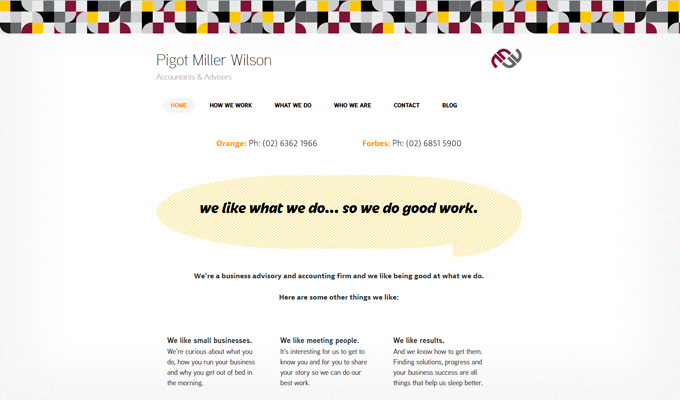 Pigot-Miller-Wilson-responsive-website-desktop-view-homepage