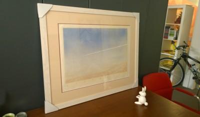 Tim Storrier limited-edition-print framed by Sauce Design