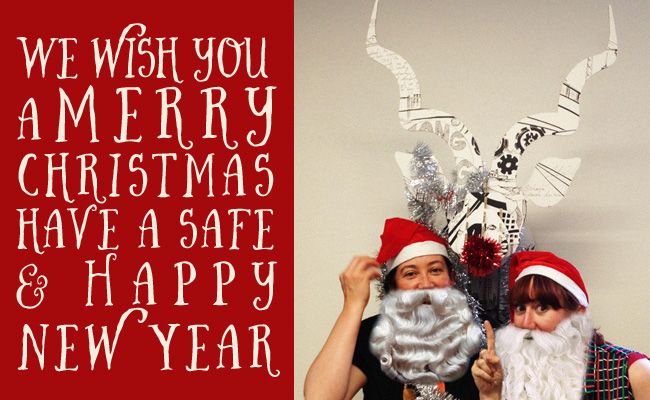 Merry Christmas from Sauce Design 2014