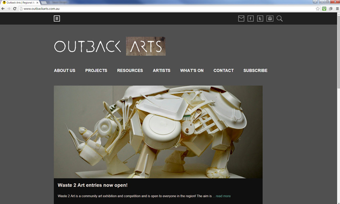 outback arts home page desktop