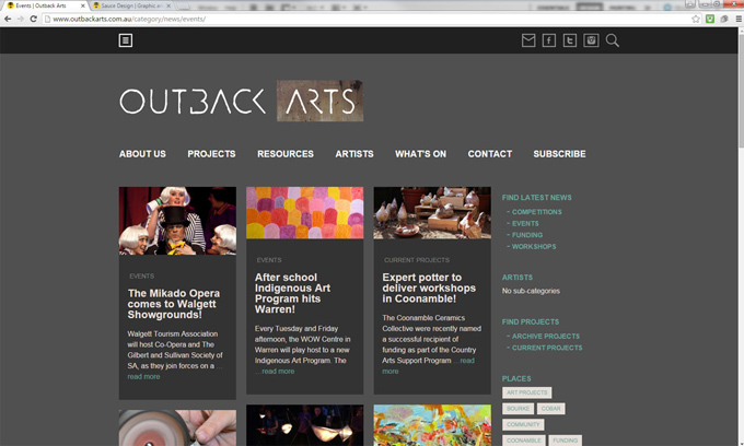 outback arts whats on events desktop