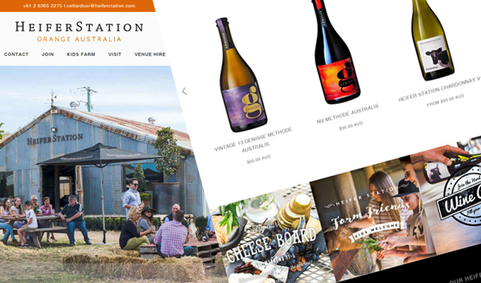 Heifer Station relaunch site with Shopify
