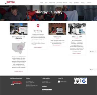 Glenray Website design Services