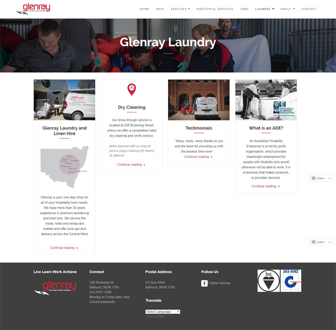 Glenray Website design Services