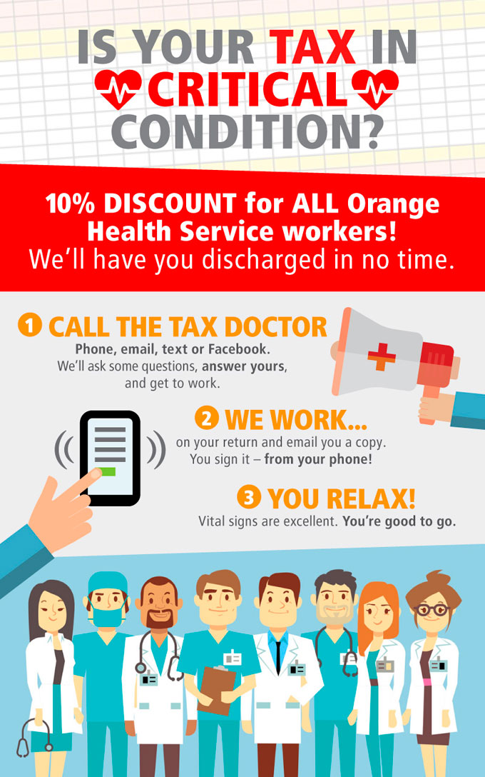 MP-Orange-Health-Service-10-percent-off-Tax-campaign-by-saucedesign
