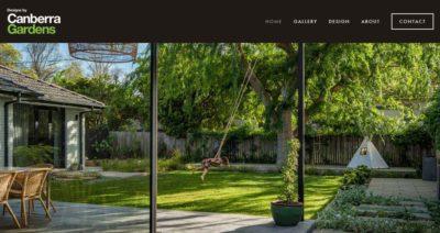 Website build for Canberra Gardens