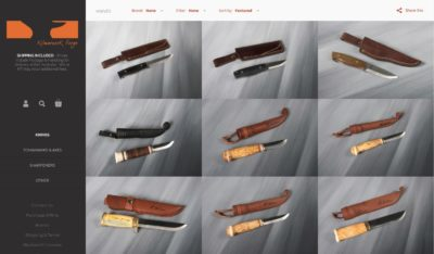 Kilmarnock Forge - Shopify ecCommerce site Design