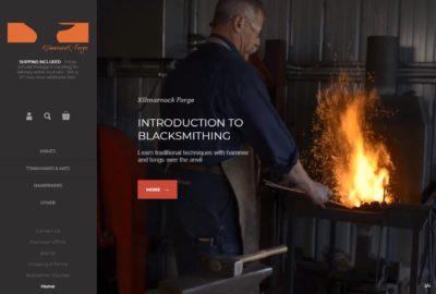 Kilmarnock Forge Home page