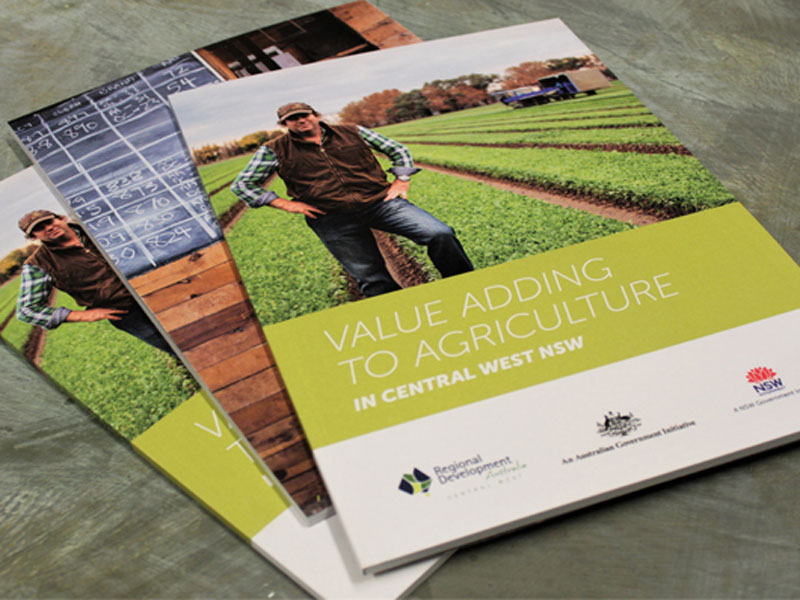 Regional Development Australia publication design