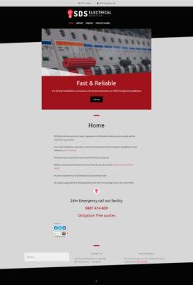 SDS-electrical-services-website