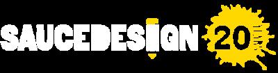 sauce design logo reverse