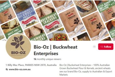 Bio-Oz Pinterest Board