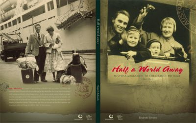 Cover design Half a World Away book