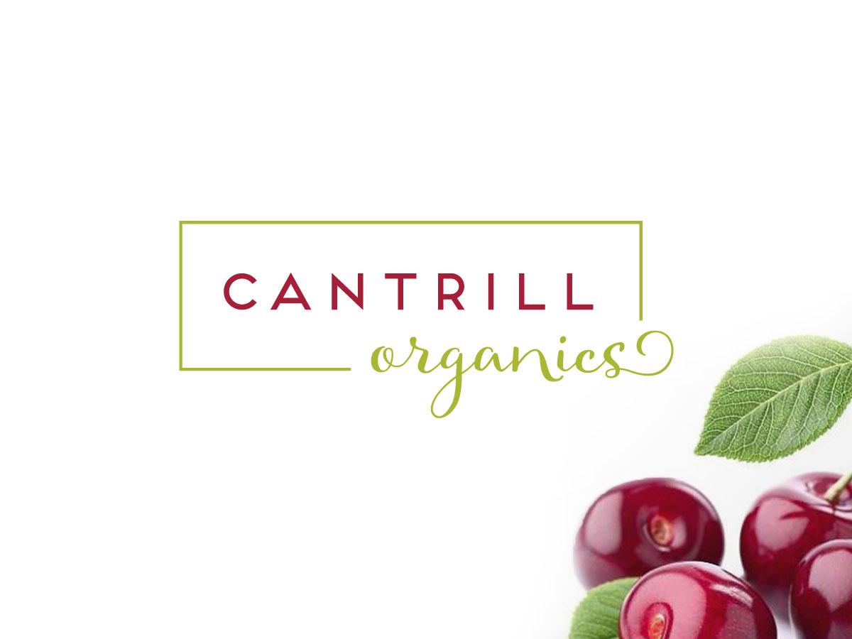 Cantrill Organics brand identity